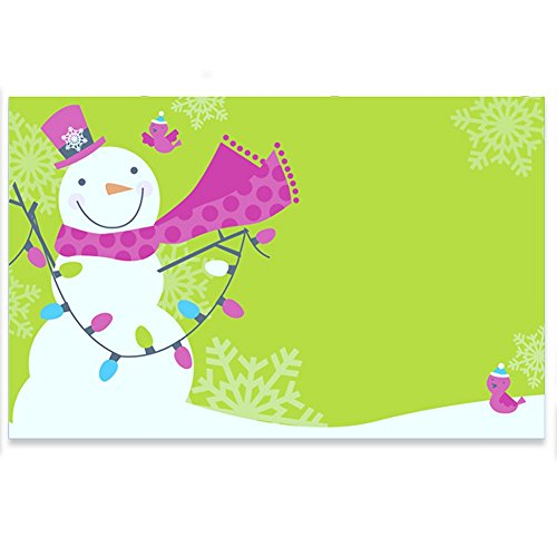 Snowman Jubilee Enclosure Cards / Gift Tags - 3 1/2 x 2 1/4 (50)