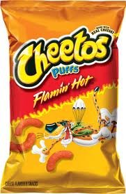 (Flamin' Hot Puffs Cheese Flavored Snacks 8.5 oz (Pack of 3))