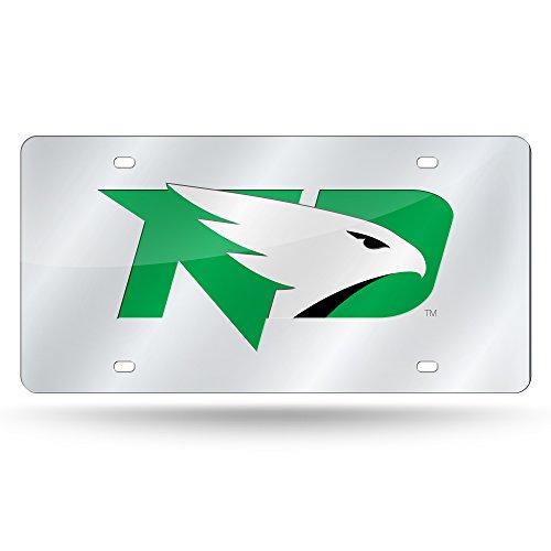 Rico Industries NCAA North Dakota Fighting Sioux Laser Cut Auto Tag