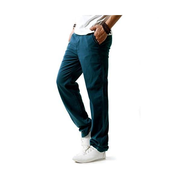 Hoerev – Pantalons décontractée de plage été – Homme