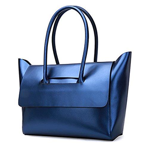 al Medium Bolso mujer de Azul Charol para Valin hombro F5vZawqx