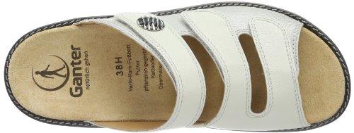 Bianco Muli Hera Donne 0400 bianco Sporco Ganter Lunghe Delle Ore white w7fq1xax