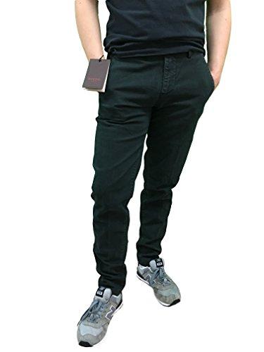 Baronio Italy Made In Artigianale 100 Slim Pantaloni Fit Verde RnB1RUq