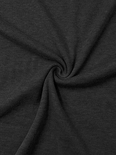 BUILT CLEAR Women's Soft Long Sleeve Raglan Tunic Leopard Print Stripe Patchwork Color Block Round Neck Fashion T Shirt Top Black