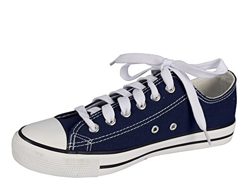Peach Couture Casual Sneakers Low Top Tennis Shoes Navy K4N9bg0