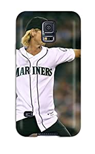 Best 2504330K423382170 seattle mariners MLB Sports & Colleges best Samsung Galaxy S5 cases