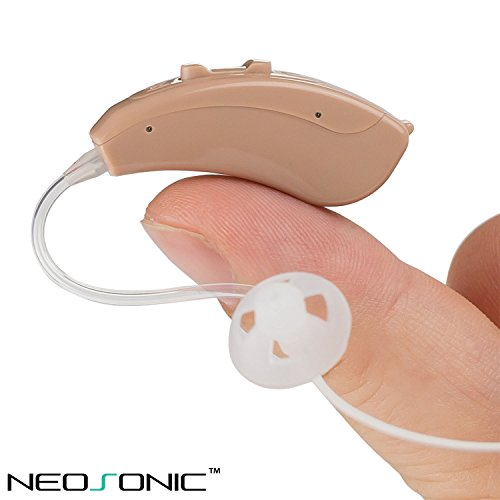 Neosonic Open Fit Hearing Amplifier – Small and Lightweight Device Designed for the Most Comfortable Listening Experience - for Adults...