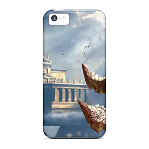Tpu Case Cover Compatible For Iphone 5c/ Hot Case/ God Of War 2 Game