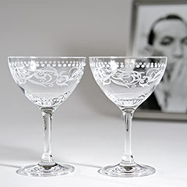 Cole Porter  Ritz Bar  Champagne Cocktail Glasses (Limited Edition)