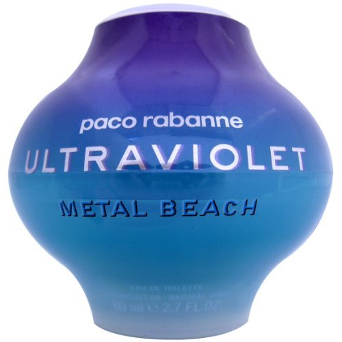 Beach Edt Spray (Ultraviolet For Women by Paco Rabanne (Metal Beach) EDT Spray 80ml by Paco Rabanne)