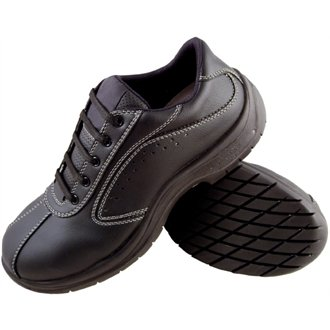 A398–43 nbsp;lites Safety Lacets Taille À 43 Côté Footwear Lites Noir Perforé qtEPx6dw
