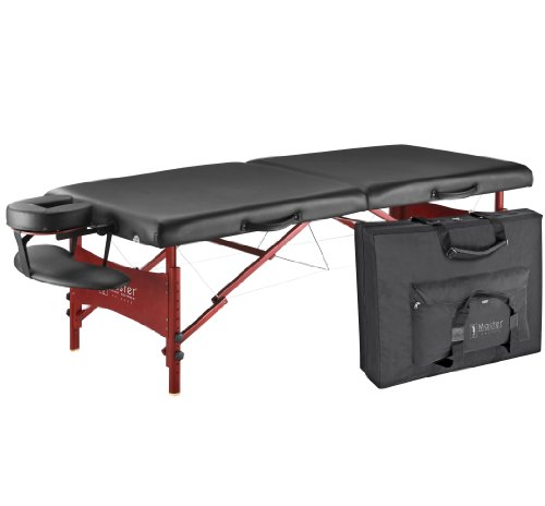 Master-Massage-30-Inches-Promaster-LX-Portable-Massage-Table-Package-Black