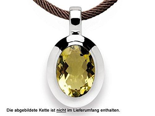 bastian inverun - pendentif argent avec quartz - 11667