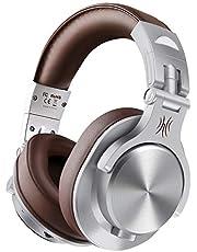 Casque Bluetooth sans Fil OneOdio Fusion A70 Casque Audio Fermé Casque Studio Professionnel Casque Filaire Casque Monitoring avec Prise 6.35 & 3.5mm pour Piano Guitare AMP SmartphoneTablettePC