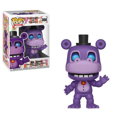 (Funko Pop! Games: Mr. Hippo Collectible Figure, Multicolor, Standard)