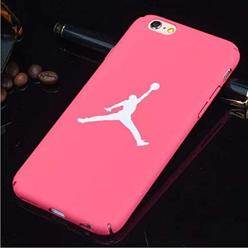 1 piece Air Jordan 23 Cover Case For Iphone 7 Hard Plastic Matte Case For iphone 8 7 6 6s Plus 5 5s Se Phone Cover Bulls Sports Nba Capa