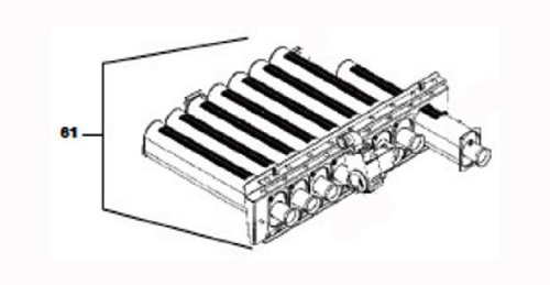 - Zodiac R0386205 Natural Gas Low Altitude Burner Tray Assembly Replacement for Zodiac Jandy LX/LT Low NOx 400 Pool and Spa Heater