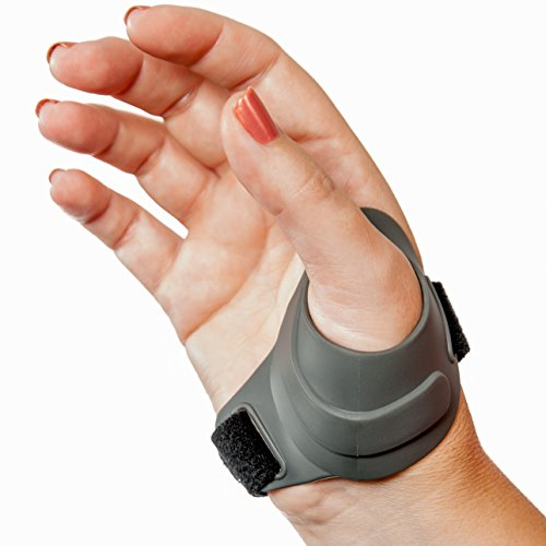 CMCcare Thumb Brace - Durable, Waterproof Brace for Thumb Arthritis Pain Relief, Left Hand, Size Small ()