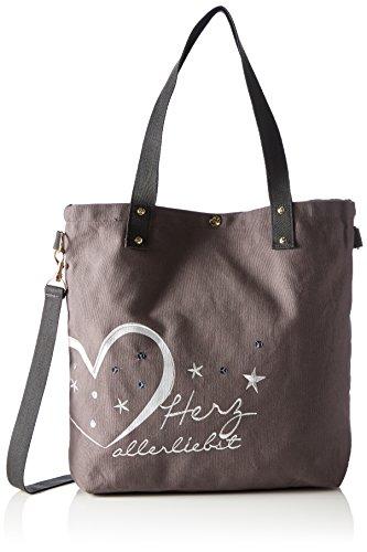 Adelheid 11260156580, Borsa Shopper Donna Grigio (Schattengrau)