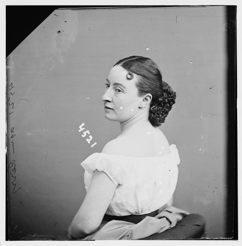 Photo: Agnes Perry,portrait photographs,Brady-Handy Collection,1855 - Get New Directions Zealand