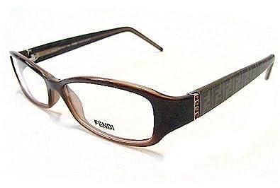 5542ed1212 Amazon.com  Fendi Cold Insert F838R Eyeglasses Brown 200 Optical ...