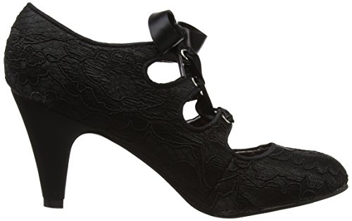 Nero Col Chiusa Lacey Elegantly Browns Tacco Joe Punta Shoes Donna Scarpe qOv8fAXw