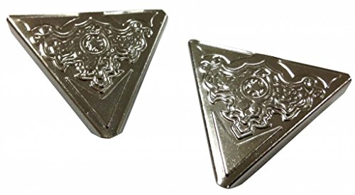Ornaments Design Collar Tips in Silvery