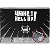 Wake The Hell Up Coffee, Cannoli Flavored, Ultra-Caffeinated Single Serve Capsules For Keurig K-Cup Brewers, 12 Count, 2.0 Compatible