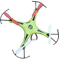 Night lions Tech (TM) SXMJ 102 Spy 2.4G 6 axis ufo mini RC Drone Quadcopter Aerobatics RTF Green