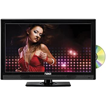 NAXA Electronics NTD-1552 15.6-Inch Widescreen HD LED TV with Built-in Digital TV Tuner and USB/SD Inputs and DVD Player