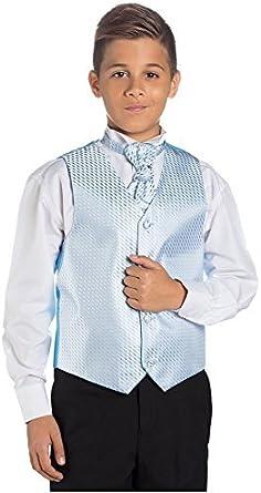Paisley of London, Niño Azul Y Negro Traje, Traje Ceremonia Niño, Chaleco De Vestir, 3 meses - 14 años: Amazon.es: Ropa y accesorios
