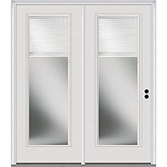 Genial National Door Company In Swing, Center Hinged Patio Door, Clear Low E