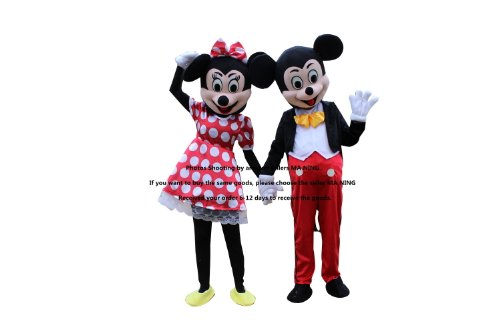 Minnie And Mickey Mouse Costumes For Couples - Publicity Promotional Mickey Mouse Cosplay Costumes(mickey+minnie)