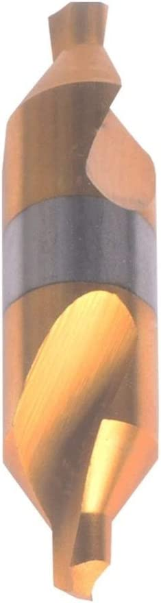 liutao Bits Drill Electrical HSS Combination Center Drills Countersinks Bit Set Lathe Mill 60 Degree Angle Punch (Color : 5PC JSG 5.0 D12 65) 1pc Jsg 1.0 D4 32