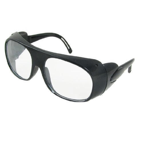 uxcell Clear Black Full Frame Hollow Out Arms Clear Lens Wel