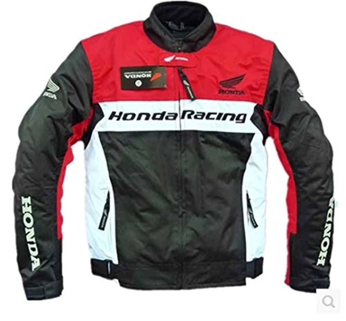 [해외] 오토바이 재킷 오토바이 점퍼 맨즈 바이 웨어 레이싱복 라이더스 재킷 방한 방풍 통기성 레이싱복 오토바이 용품 추동용 S-3XL 레드, XXXL
