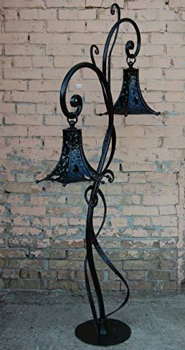 Garden lantern, fairy lantern, outdoor lighting, lamp post, metal lantern, fairy lights, party decor, garden sculpture,fall decor,yard decor