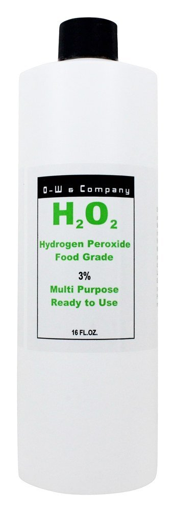 O. W. Bionics Hydrogen Peroxide 3% Food Grade 16 Ounces