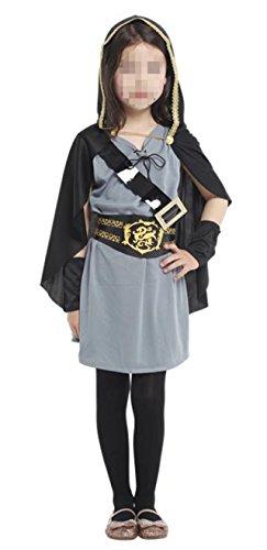 Betusline Kids Unisex Girls Fun Warrior Knight Costume Halloween (Mighty Girl Costumes)