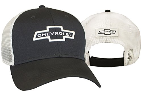 Chevrolet Hat Baseball (Chevrolet Mesh Hat (Black)  One Size)