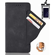 Flip Case for Huawei Luxury Leather Bussiness Phone Case Cover for Bussiness Gifts with Free Waterproof Case