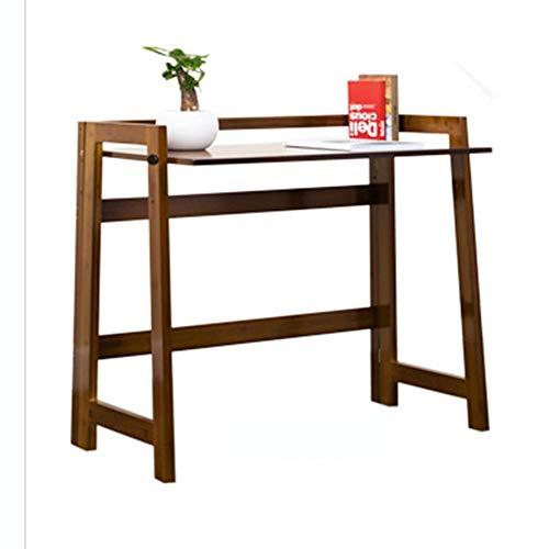 Computer Desk Desktop Simple Desk Simple Writing Desk Lazy Table Folding Small Table (Brown) (105 43cm) Table
