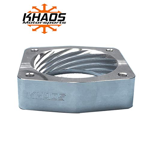 Helix Throttle Body Spacer - Khaos Motorsports Helix Bore Throttle Body Spacer Fits Nissan/Infiniti 3.5L