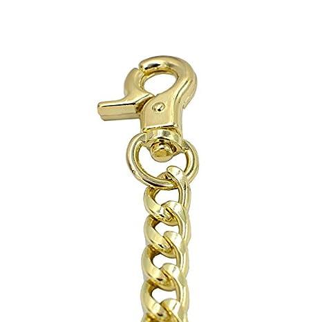 Gun Metal DGOL 57 inches Lengthened Bags Metal Replacement Chain Shinning Cross Body Strap Handle Shoulder for Handbag