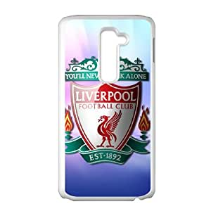 LG G2 Cell Phone Case White Liverpool Logo whis