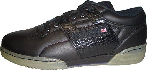 Reebok Workout Low LXR - Stylischer Oldschool-Sneaker. Leder-Obermaterial für perfekten Komfort und Halt. Hervorragende Dämpfung. Stylishe Gum-Sohle. EUR 42 US 9 UK 8 27 cm
