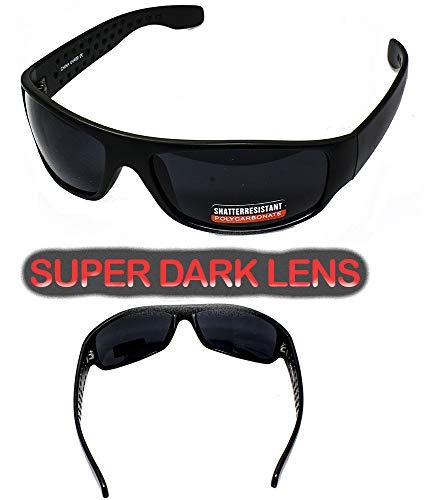 super dark lens sunglasses for sensitive eyes