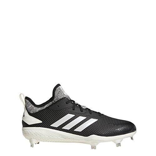 Adidas Adizero Afterburner V - Zapatillas de béisbol para Hombre, Black/Cloud White/Grey, 11.5 M US