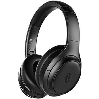 bb9f33a799d TaoTronics Active Noise Cancelling Headphones [2019 Upgrade] Bluetooth  Headphones SoundSurge 60 Over Ear Headphones Sound Deep Bass, Quick Charge,  ...