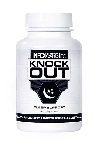 Knock Out Sleep Support  30 Capsules    Natural Sleep Aid With Melatonin  Valerian  Chamomile   More   Non Habit Forming Sleeping Pills To Fall Asleep   Stay Asleep